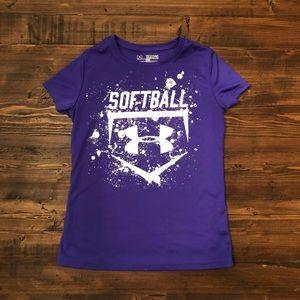 Softball active tee